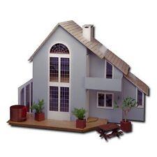 Greenleaf - The Brookwood Dollhouse - Modern Wood / Wooden Dollhouse Kit