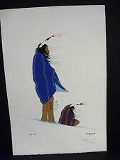 Native American Art-Serigraph-Jackson Narcomey