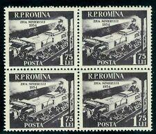 1954 Miner,Loading coal,Mine,Bergmann,Mineur ,Minatore,Romania,Mi.1478, Mnh,x4