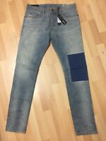 MENS Diesel TEPPHAR LYOCELL STRETCH Denim 084UK BLUE Slim W32 L32 H6 RRP£170