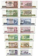 DDR Geldscheine  von 5 bis 500 DDR Mark, TOP Reproduktion