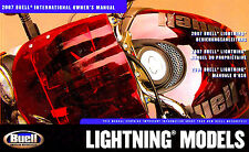 2007 Buell Lightning Motorcycle International Owners Manual -Multilanguage