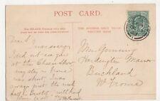 Miss Gunning, Hardington Manor, Buckland, Frome 1903 Postcard, B398