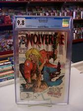 WOLVERINE #10 (Marvel Comics, 1989) CGC Graded 9.8 ~ SABRETOOTH ~ White Pages