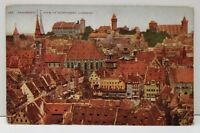 Nuremberg Germany,  Panoramic View of Nuremberg Postcard C23