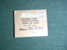 Nikon Focusing Screen FA-FE2 Type E2