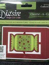 Die'sire Christmas Cracker Create A Card Free Signed For 1st Class New Sealed