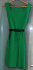 Authentic Miu Miu wool dress RARE SIZE AU 10-12 EMERALD GREEN