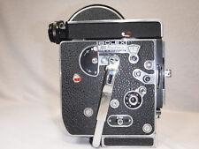 Ex Condition 1965 Bolex H8 REX 4 Reflex 8mm Movie Camera Tested and Working