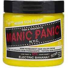 Manic Panic Semi-Permanent Hair Color Cream, Electric Banana 4 oz