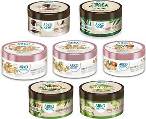 Arko NEM New Moisturising Cream | Hand, Face, Body Daily Care Cream | 250ml Tub