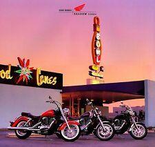 2000 HONDA SHADOW 1100 MOTORCYCLE BROCHURE -SHADOW ACE TOURER-SHADOW AERO-SPIRIT