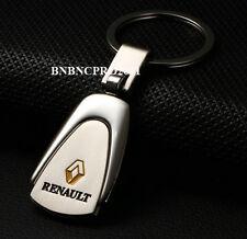 Car Logos Titanium Key Chain car Keychain Ring Keyfob Metal Keyrings for Renault