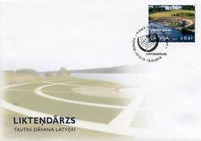 Latvia 2018 FDC Liktendarzs Garden of Destiny 1v Set Cover Nature Trees Stamps