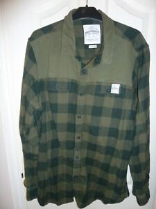 Aqua Products Green Chequered Shirt Size XXL ~ Carp Fishing