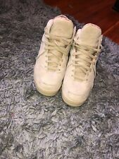 Fila Mens The Cage Beige Suede Basketball Shoes Sneakers 10