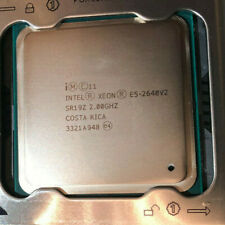 Intel Xeon Eight Core E5-2640v2 2.00GHz 20MB LGA2011 Server CPU Processor