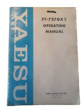 Yaesu Ft-757 GXII GX2 Operating Manual