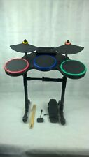 ***RARE PS3 Band Hero Wireless DRUM SET + STICK + PEDAL + DONGLE