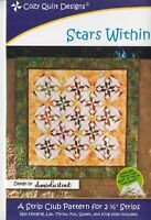 Star Within Quilt Pattern - Cozy Quilt Designs
