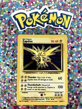 �� Pokemon 1999 Wizards Zapdos Base set Holo Nintendo Game Freak Tcg old card �