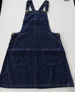 Next Girls Denim Dungaree Dress Size 16yrs BNWT