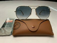 Ray-Ban Aviator Sunglasses RB3026 62mm 001/32 Gold Frame with Grey Gradient Lens
