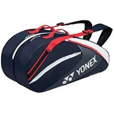 Yonex Tennis Racket Bag 6 Backpack with Bag 1732R Navy Blue/Red From Japan