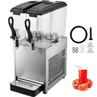 Commercial Beverage Dispenser Juice Coffee  Orange 2 Tank Cold Drink  Machine