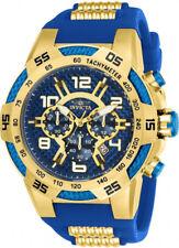 Invicta Men's Speedway 24232 Blue Silicone Quartz Dress Watch