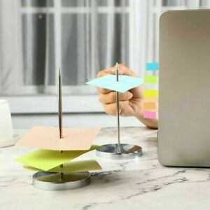 Memo Paper Holder Spike Stick Receipt Note Order Office Desk Holder