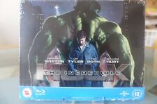Blu ray steelbook The Incredible Hulk U.K Play.com exclusive New & Sealed NEUF