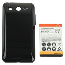 Batteria HB5F1H 3600mAh Compatibile + Cover Maggiorato x Huawei M886 Mercury / G