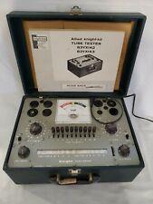 Vintage Allied Knight-Kit Tube Tester Model 83YX142-83YX143 & Manual's