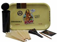 RAW KING SIZE CONES (20 COUNT)  RAW LOADER PLUS NEW  RAW GIRL  ROLLING TRAY
