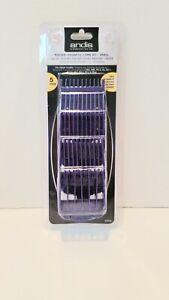 Andis 01410 Master Dual Magnet Small Nano 5-Comb Set 01410 Barber Clipper Guards