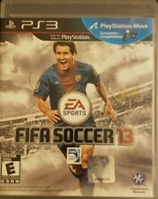 FIFA Soccer 13 (Sony PlayStation 3, 2012) Complete Game With Manual PS3