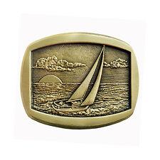 Sail Boat Belt Buckle OBMS107 IMC-Retail