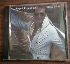 CD JOSEPH FEGENBUSH Sings Elvis presley AUTOGRAPHED