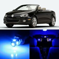 12 x Ultra Blue Interior LED Lights Package For 2007 - 2016 Volkswagen VW EOS