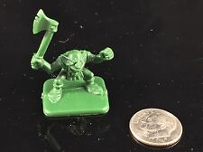 1989 HeroQuest Board Game GOBLIN w/Axe Replacement Piece Hero Quest MB Rare RPG