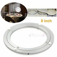 8inch 200mm Lazy Susan Metal Bearing Rotating Swivel Turntable For TV Rack Desk