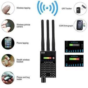 Wanzendetektor Signalfinder Bug RF Detector GPS Spy Finder Versteckte Kamera DE