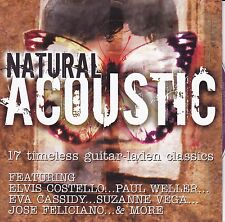NATURAL ACOUSTIC 17 Timeless Guitar-Laden Classics CD - New