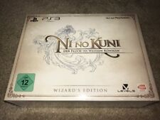 New Sealed Ni No Kuni Wrath of the White Witch PS3 German Wizard's Edition