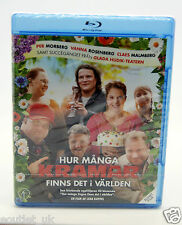 Hur Manga Kramar Finns Det I Varlden Nordic Blu-ray Film Region B NEW SEALED