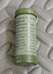Camouflage Face Paint - Black & Olive Drab - US Military / NATO / Army / USMC