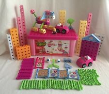 Fisher Price Trio Blocks Pink Girls Bin Set & More 193 Pieces