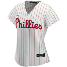 Brand New 2020 MLB Philadelphia Phillies Nike Women's Home Replica Jersey NWT