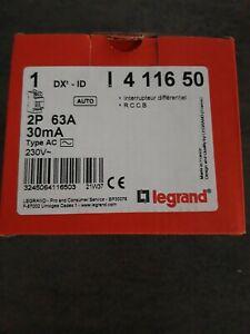 Inter Differentiel Legrand 63A 30mA auto 411650